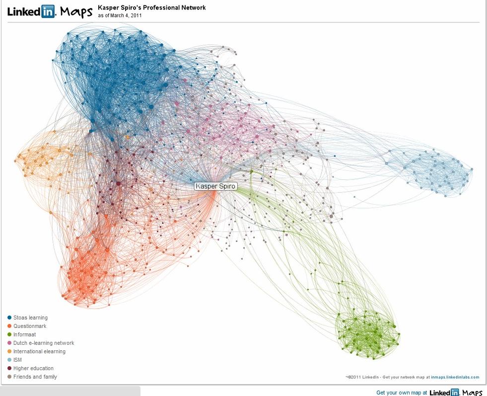 LinkedIn map Kasper Spiro