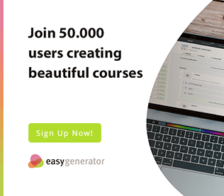 easygenerator create beautiful courses