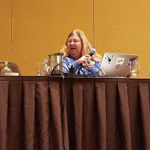 Jane Bozart at Devlearn 2018